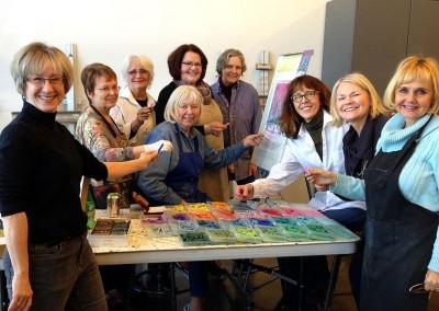community painting classes