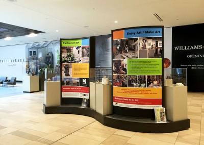 Ridgedale Art Center display