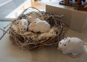 Rabbit Nest by Amy Lietzau