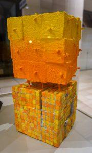 Yellow Stack by Kim Matthews