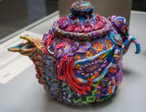Celestial Bird Teapot by Layl McDill